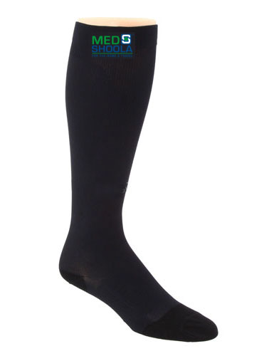 DVT Compression Stocking - Black