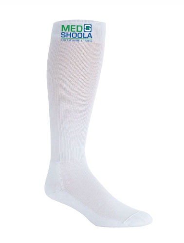 DVT Compression Stocking - White